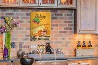 Perpetual Calendar Nostalgic Professional Bakery Tin...