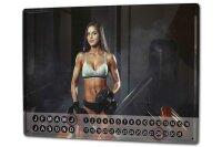 Perpetual Calendar Sexy Fun rative Weight lifting Tin...