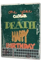 Perpetual Calendar Anniversary Party Fun Happy Birthday...