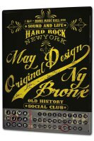 Perpetual Calendar Holiday Travel Agency Hard Rock Club...
