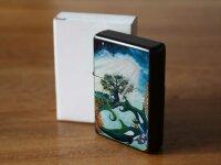 Pocket Windproof Lighter Brushed Oil Refillable Krakowski...