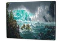 Tin Sign XXL Retro Sea waves