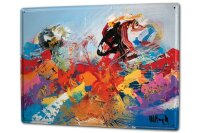 Tin Sign XXL Fun Ravtive Modern art