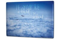 Tin Sign XXL Fun Sea of clouds