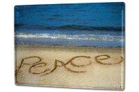 Tin Sign XXL Fun Beach