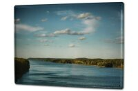 Tin Sign XXL Holiday Travel Agency River