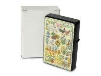 Lindner Design Pocket Vintage Windproof Lighter Brushed...