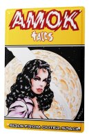 FeliX Tin Sign Pin Up Adult Art Girls From Outer Space...