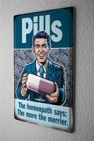 Pit Hammann Decorative Tin Sign Drugstore Homeopathic...