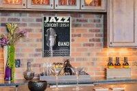 Perpetual Calendar Kitchen Jazz Tin Metal Magnetic