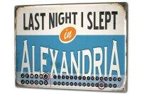 Perpetual Calendar Retro Art Metropole Alexandria Egypt...
