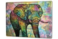 Tin Sign XXL Elephant Zoo Elephant