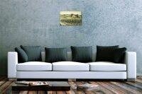 M. Dunlap Blechschild Weltenbummler Landhaus Toskana Metallschild 20X30 cm