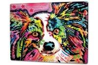 Tin Sign XXL Dog Pappilon