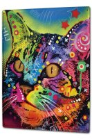 Tin Sign XXL Cat Breed Colorful cat