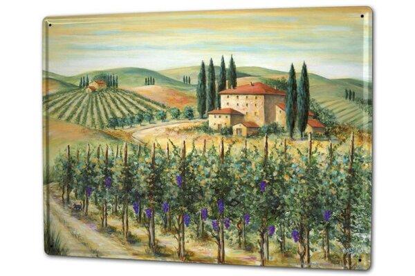 Tin Sign XXL World Tour Farmhouse Tuscany
