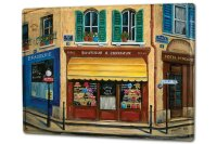 Tin Sign XXL Holiday Travel Agency France Milliners Boutique