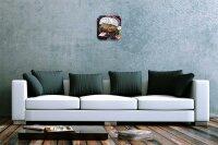 Wall Clock Breed Pitbull Christmas Printed Acryl Acrylglass