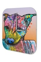 Wall Clock Animal Shelter Dog with newspaper Printed...