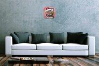 Wall Clock Cat Decoration Cat Christmas Printed Acryl...