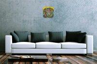 Decorative Wall Clock Vet Practice Lions head Acryl...