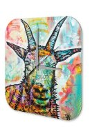 Decorative Wall Clock Vet Practice Colorful sheep Acryl...