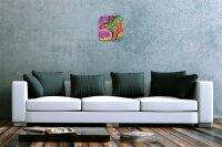 Wall Clock Nursery Decoration Dinosaur Acryl Acrylglass