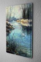 H. L. Koehler Blechschild Angel Fische Angler Fang Fisch Fischer Haus Wand Deko 20X30 cm