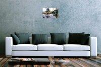 H. L. Koehler Blechschild Angel Fische Vater Sohn Angel Fischer Haus Wand Deko 20X30 cm