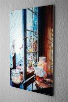 H. L. Koehler Blechschild Retro Fensterbank Vorhang Metall Wand Deko Schild 20X30 cm