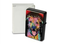 Pocket Windproof Lighter Brushed Oil Refillable Best dog