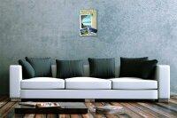 """Tin Sign Wall Decor Adventurer beautiful landscape beach Metal Plate 8X12"""""""