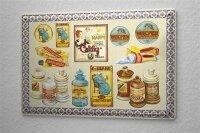 Decorative Tin Sign Drugstore Medicine ointments cream...
