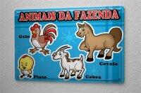 "Tin Sign Kitchen Decor Breeds Horse Goat 8X12"""