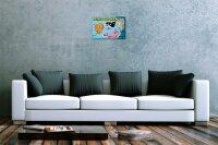 Fun Tin Sign Wall Decoration Marine animals dolphin squid...