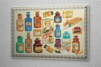 Decorative Tin Sign Drugstore Cough syrup cough medicine...