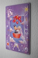 Anniversary Party Decoration Fun Tin Sign Wedding heart...