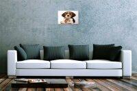 Blechschild Küchen Deko Welpe Beagle Hamster Metall Wand Schild 20X30 cm