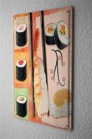 Tin Sign Food Restaurant Decoration Japan Sushi...