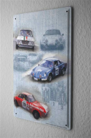 Garage Metal Tin Sign Poster Plaques Race Cars Auto...