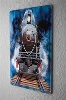 Tin Sign Model Railroad Decoration locomotive  Nostalgia...