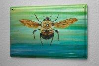 Tin Sign Ravtive Vet Practice bee