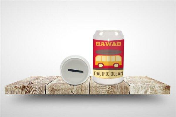 Money Box Holiday Travel Agency Hawaii Ceramic Print