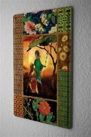 Tin Sign Bar Restaurant Decoration  Cards motif african...