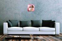 Wall Clock Bar Restaurant Decoration heart dog printed...