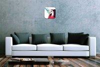 Wall Clock Pin Up Adult Art Deringer  printed acryl...