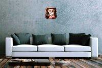 "Wall Clock Tale Bubble  Vintage Decoration 10x10"""