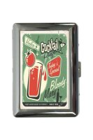 cigarette case tin Bar Party Bloody Mary Print