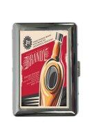 cigarette case tin Bar Party Brandy Print