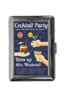cigarette case tin Bar Party Cocktail party Print
